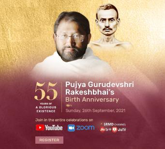 Pujya Gurudevshri's 55th Birth Anniversary Celebrations